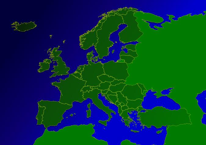 Niederschlagsradar Europa